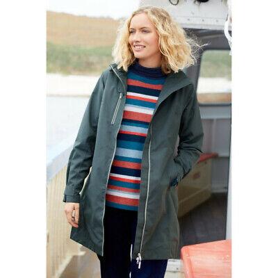 Seasalt Coverack Coat Nickel Grey Sizes 8 10 12 14 16 BNWT
