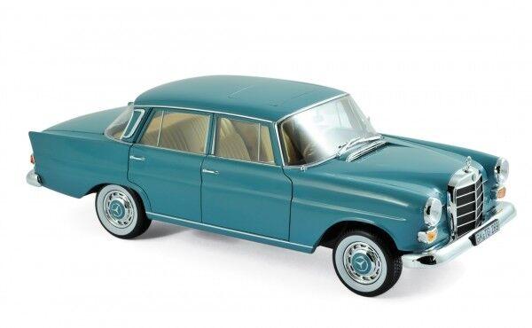 Norev 183577 mercedes-benz 200 1966 moosverde 1 18 maqueta de coche