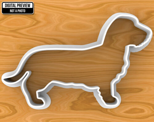 Sélectionnable Tailles Aux cheveux longs teckel chien Cookie Cutter