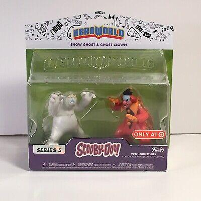 Scooby-Doo - Snow Ghost /& Ghost Clown Series 5 Target Exclusive Funko Hero World
