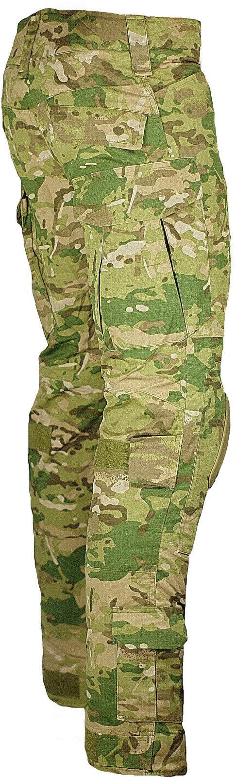 XS S XL M L XL S NATO ARMY WAIST MULTICAM MTP TROUSERS PANTS AIRSOFT KNEE PADS f003b5