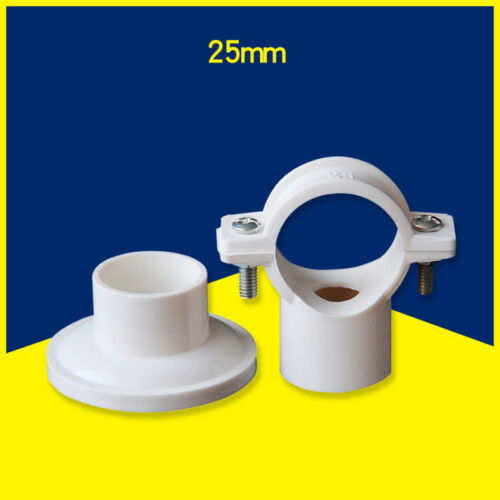 20mm 25mm 32mm 40mm  PVC Water Supply Pipe Clamps Hook Clips Support Bracket
