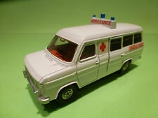 DINKY TOYS 276 FORD TRANSIT VAN - AMBULANCE 1:43?- RARE SELTEN - GOOD CONDITION
