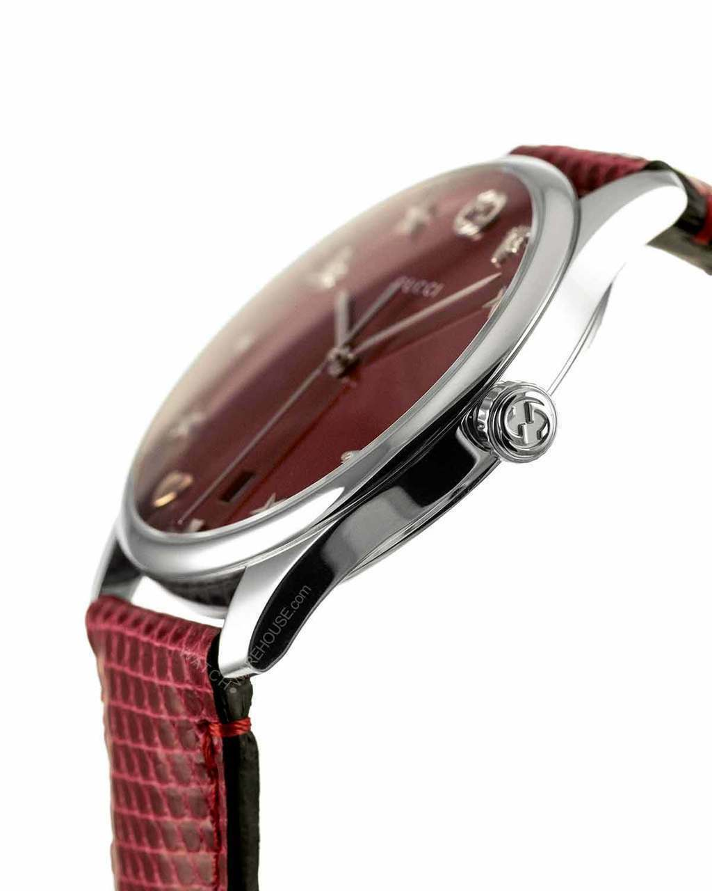 dbbb4deaaa9 Gucci G-timeless Red Mother of Pearl Dial Women s Watch YA1264041 ...