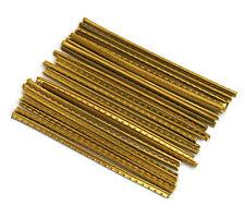 24 pcs Dunlop 6180 Accu-Fret Brass Medium Fret Wire for Guitar/Bass FRET-6180