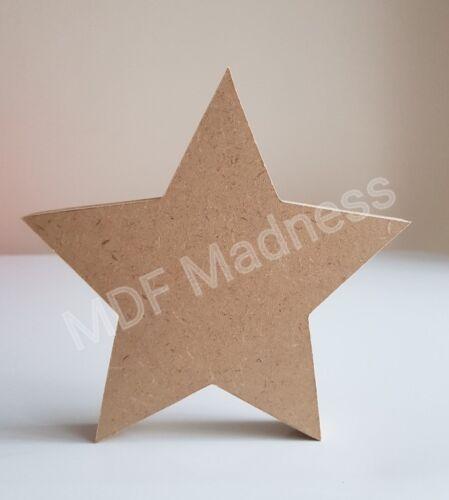 WOODEN STAR MDF CRAFT SHAPE