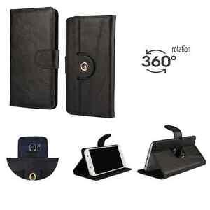 HP-Elite-x3-Smartphone-HQ-Leder-huelle-360-XL-Echtleder-Schwarz