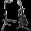 miniature 1 - 5-Core-Floor-Guitar-Stand-Holder-Folding-Tripod-Rack-Electric-Acoustic-Bass-GSH