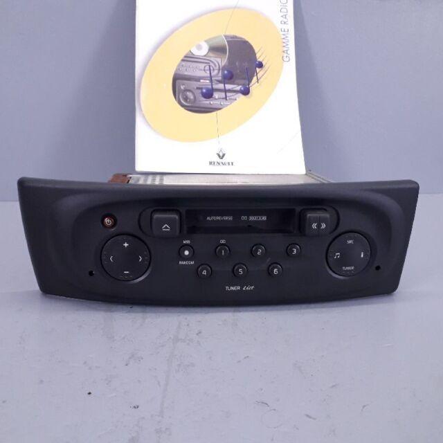 Renault Megane i Fase II Radio Autorradio con Code 7700434422