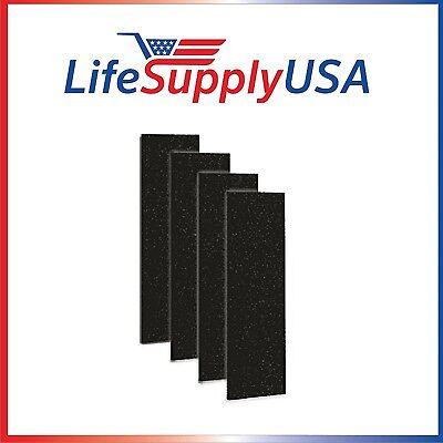 4pk Carbon Activated Pre-Filter for Germguardian FLT5000//FLT5111 HEPA Filter