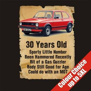 Image Is Loading 30 Year Old Golf Funny 30th Birthday Gift