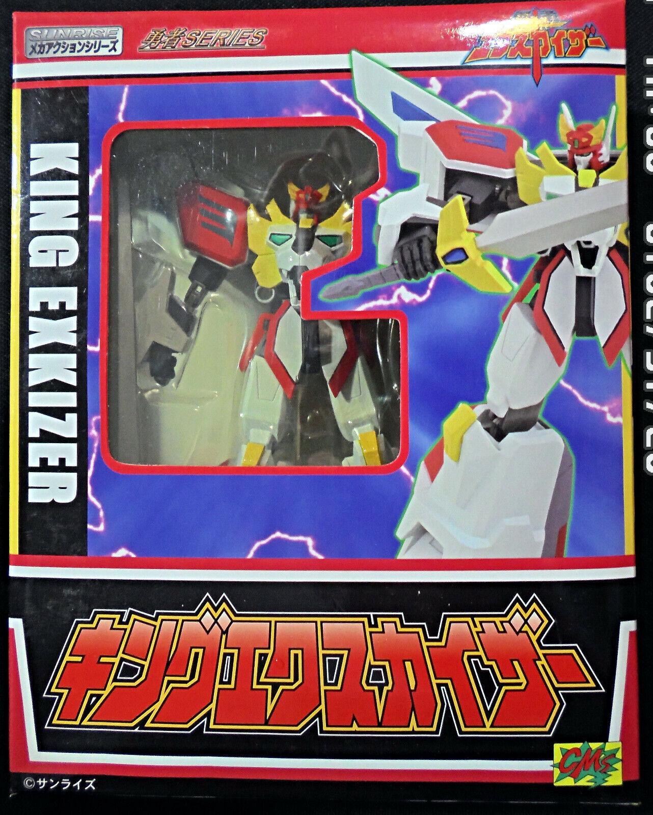2007 CM's Sunrise Mecha Action Yuusha Series Brave Fighter King Exkizer NY