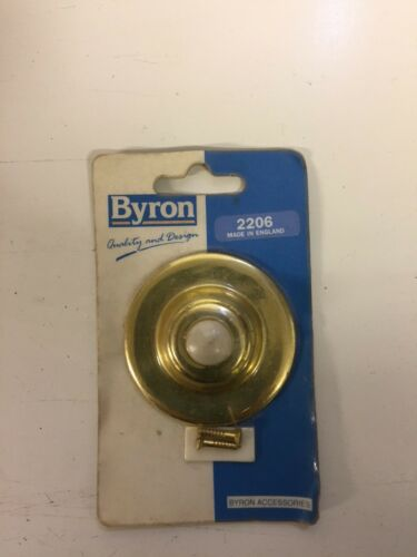 Byron Bell Push Brass Door Round 2206 England