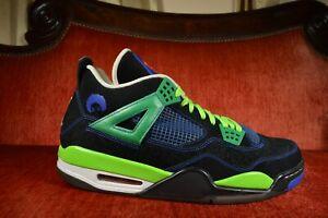 CLEAN-Nike-Air-Jordan-4-IV-Doernbecher-Size-13-308497-015-2011-Blue-DB-Superman