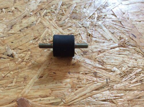 1 Anschlagpuffer Gummipuffer beidseitig Außengewinde M4 15 x 15 mm #54
