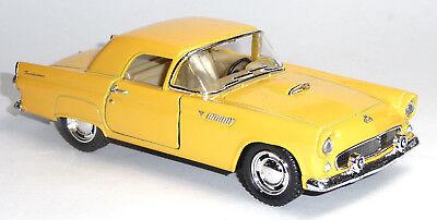1955 Ford Thunderbird schwarz 1:36 Oldtimer Sammlermodell von KINSMART Neuware