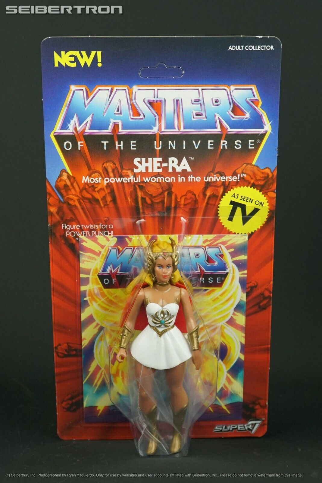 SHE-RA Masters of the Universe Super7 Vintage MOTU 2018 Unpunched NEW