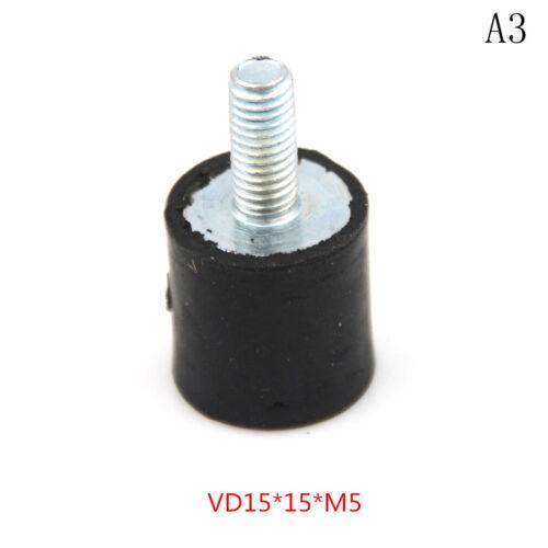 M3 M4 M5 M6 M8 Gummi Stoßdämpfer Anti Vibration Isolator Halterungen Spulen ~