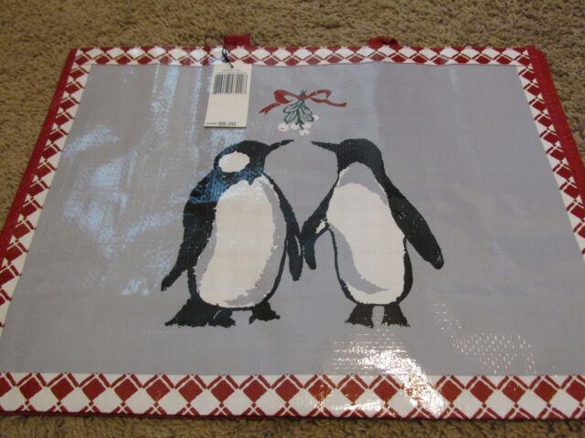771a40fb80 Vera Bradley Market Tote Penguins Shopping Bag Eco-friendly Holiday ...