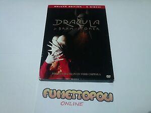 DRACULA-di-Bram-Stoker-DELUXE-EDITION-2-DVD-Columbia-Fuori-Catalogo-OTTIMO-SC27