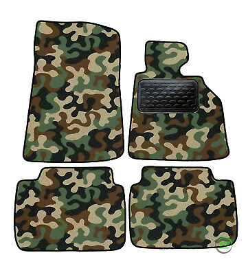 Camo Army Floor Car Mats Fits Bmw 3 Series E46 Coupe 98 05 4pcs Set Tailored Ebay