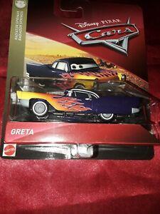 "Disney Pixar Cars Diecast Greta Radiator Springs /""VHTF/"""