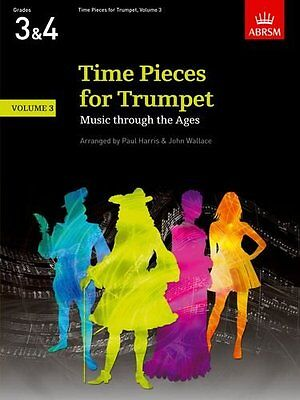 Sheet Music & Song Books Musical Instruments & Gear Time Pieces For Trumpet Vol 3 Harris/wallace*