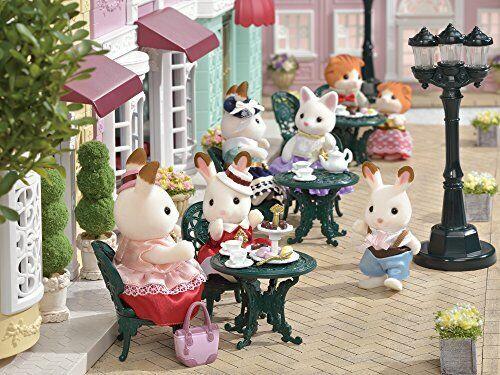 Sylvanian Families Calico Critters TS-07 Town Series Tea and Treats Set JAPAN