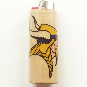 Details about Minnesota Vikings Norseman Lighter Case Holder Sleeve Cover  Fits Bic Lighters
