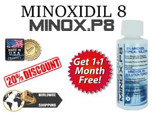 KIRKLAND-MinoxP8-MINOXIDiL-12-2-MESI-RICRESCITA-CAPELLI-HAIR-REGROWTH-FOLIGAIN