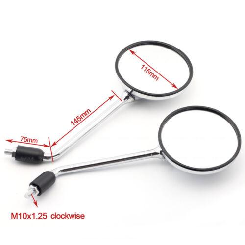 For HONDA CB900F CB600F CB750 CB400 CB 750 E9 CertificationRear View Mirrors