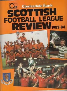 Clydesdale Bank Football League Review 1983/84