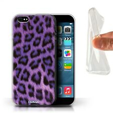 STUFF4 Gel/TPU Case/Cover for iPhone 6+/Plus 5.5/Leopard Animal Skin/Print