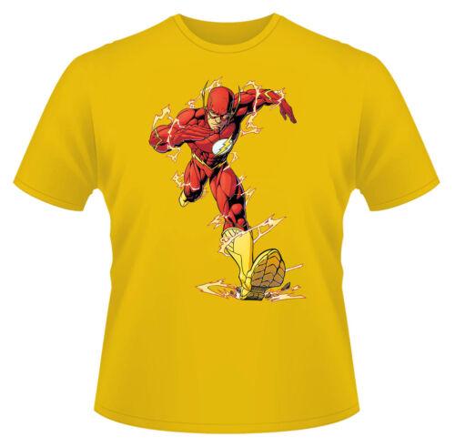 The Flash Superhero T-Shirt Boys Girls Kids Age 3-15 Ideal Gift//Present