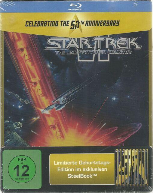Star Trek 06 Das unentdeckte Land Blu-ray Steelbook Limited Edition NEU OVP Seal