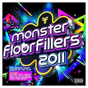 Monster-Floorfillers-2011-2-CD-BRAND-NEW-Pixie-Lott-Rihanna-Dappy-Saturdays
