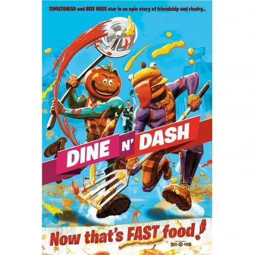 Fortnite Poster Dine N Dash 216 Official Merchandise