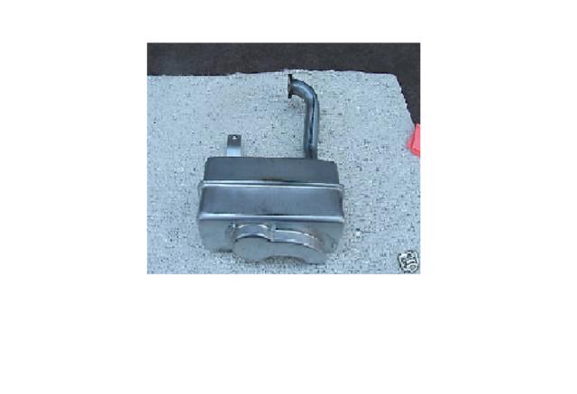 NEW! OEM- MUFFLER-CRAFTSMAN RIDING MOWER- OHV BRIGGS & STRATTON ENGINE #137352