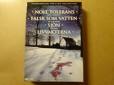 2-DISC DVD BOX / NOLL TOLERANS - FALSK SOM VATTEN - SJON - LIVVAKTERNA