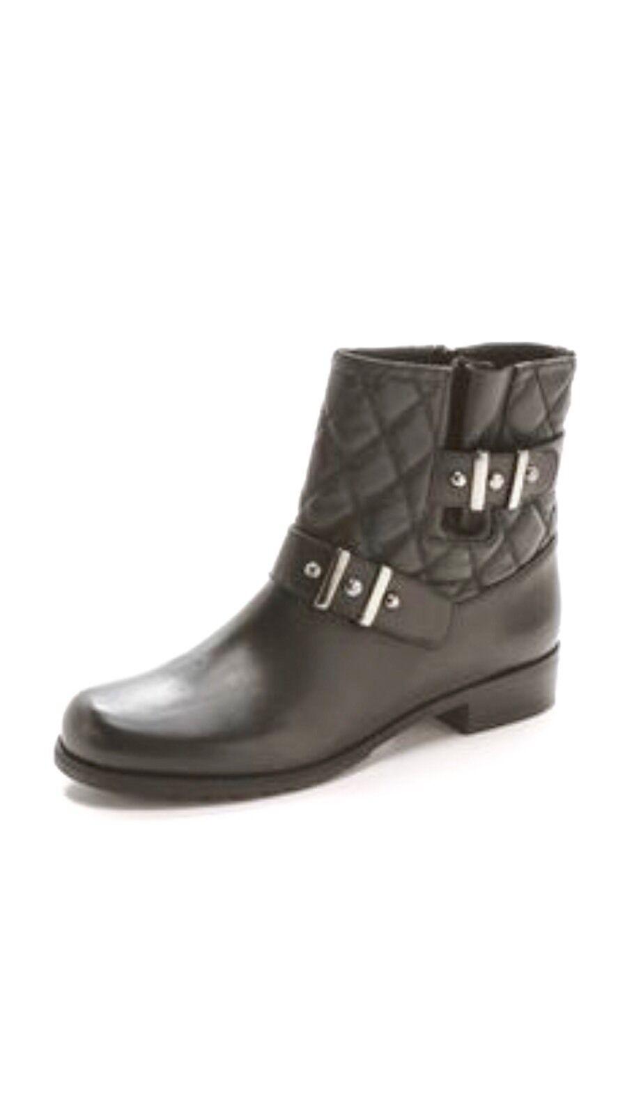 senza esitazione! acquista ora! Stuart Weitzman Download nero Nappa Nappa Nappa Leather avvioies Dimensione 8  vendita calda online