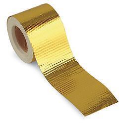 "TOG 450 DEGREE GOLD HEAT DEFENCE REFLECTIVE TAPE 2/"" X 30ft SUBARU IMPREZA WRX"