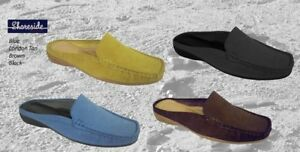 Shoreside-Ladies-Ladies-Moccasin-Mule-Shoe-Casual-Slip-on-Shoes-Holiday