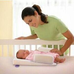 Solid Newborn Baby Head Back Anti Spit Milk Roll Sleep Mat