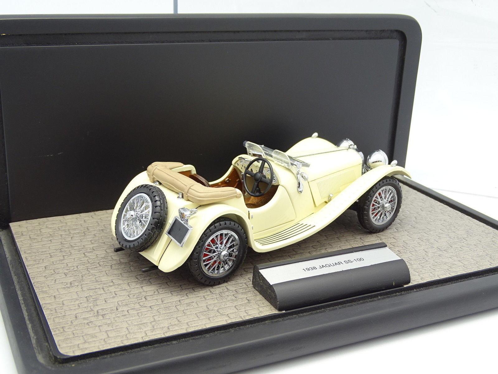 Franklin Mint 1 1 1 24 - Jaguar SS100 1938 21d11c