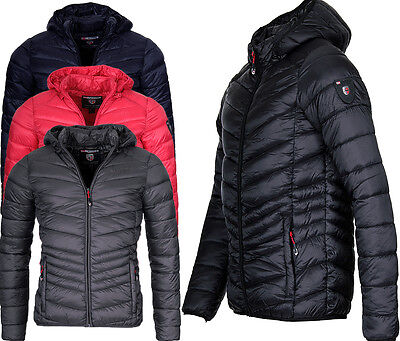 newest b15db 4ba02 Geographical Norway Men's Autumn Winter Quilted Jacket ...