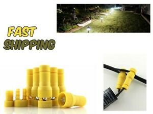 Landscape Lighting Connector For Outdoor Light Cable Low Voltage Wire Malibu Use 691059837145 Ebay