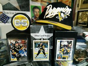 official photos 7decf ef8cf Mario Lemieux Penguin Collector Lot with Sega Gretzky ...