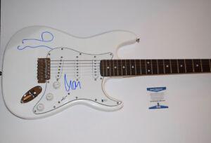 noel liam gallagher signed autographed electric guitar oasis beckett bas coa ebay. Black Bedroom Furniture Sets. Home Design Ideas