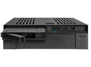 Icy-Dock-expresscage-2x-2-5-034-SAS-SATA-HDD-SSD-Mobile-Rack-3-5-034-slot