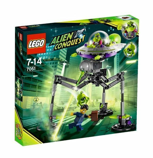 7051 7051 7051 TRIPOD INVADER alien conquest LEGO legos set NEW nisb space retired mars a6ee60